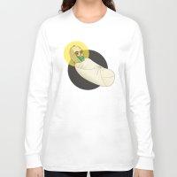 c3po Long Sleeve T-shirts featuring Baby C3PO by Fanny Öqvist Westerberg