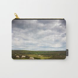 Sheep grazing in North Yorkshire Carry-All Pouch