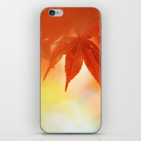 Autumnal tints iPhone Skin