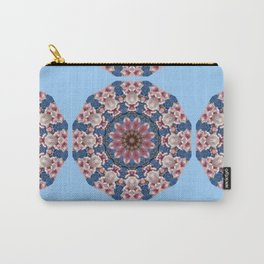 Floral mandala-style, Spring blossoms 002.2.2 Carry-All Pouch
