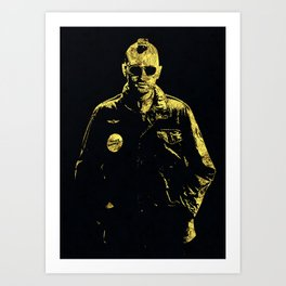 Taxi Driver - The Legend Art Print