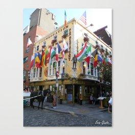 Temple Bar, Dublin Canvas Print