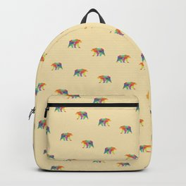 Fractal Geometric bear Backpack