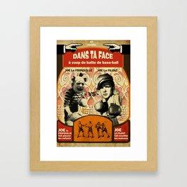Boxe Framed Art Print
