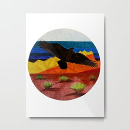 It's A Desert Out There Metal Print