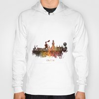 poland Hoodies featuring Cracow Poland by jbjart