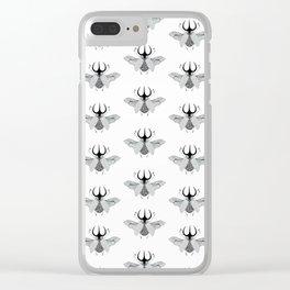 Beetle #5 B&W Clear iPhone Case