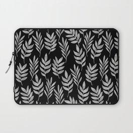 Silver leaf pattern Laptop Sleeve