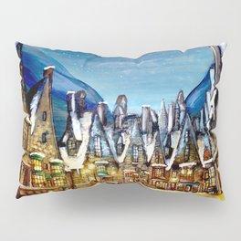 Wintry Hogsmeade Pillow Sham