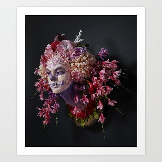 Spring Muertita Side Art Print