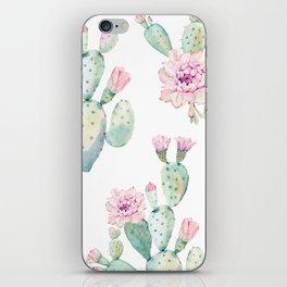 Simply Cactus Rose iPhone Skin