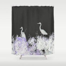 Herons Shower Curtain