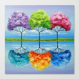 Each tree has its own smell Canvas Print