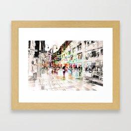 Vienna Rhapsody in Greys Framed Art Print