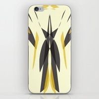 knight iPhone & iPod Skins featuring Knight by lillianhibiscus