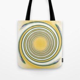 Winding Spiral Tote Bag