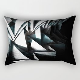 DARK SCARY DEEP ABSTRACT Rectangular Pillow