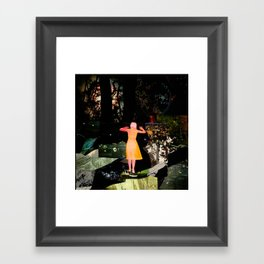 The Veil Framed Art Print