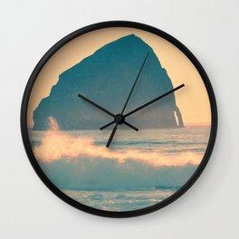 CAPE KIWANDA - OREGON Wall Clock