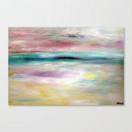 White Ocean Canvas Print