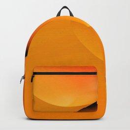 Pumpkin Orange fractal  Backpack