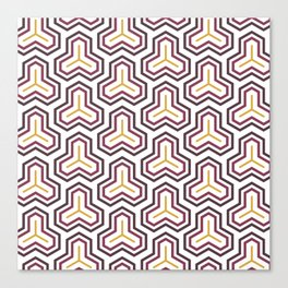 Groove Series - D Canvas Print