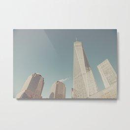 World Sky - New York City Metal Print
