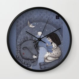 Lion Tamer Wall Clock