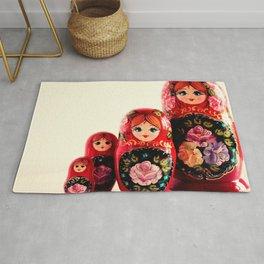 Babushka Russian Doll Rug