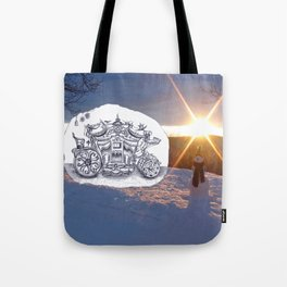 Travel with Mr Snowman Tote Bag