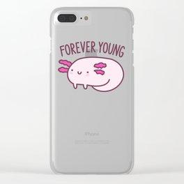 Adorable Axolotls Clear iPhone Case