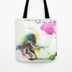 Going back Tote Bag