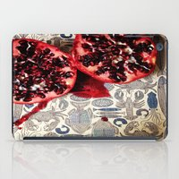pomegranate iPad Cases featuring Pomegranate  by Carey Lee Designs