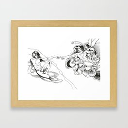 The Addiction of Everest - NC Framed Art Print