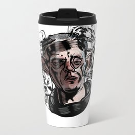 Haunted Metal Travel Mug