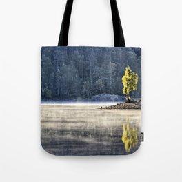 Glen Affric morning mood Tote Bag