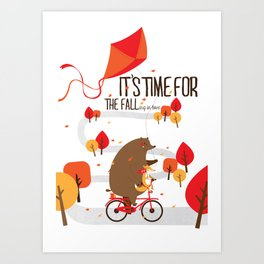 The Fall Art Print