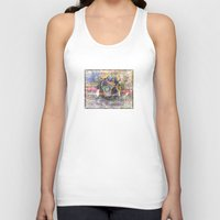 pooh Tank Tops featuring Pooh Reconsidered by Heidi Fairwood
