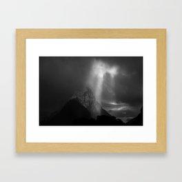 Mitre Peak Framed Art Print