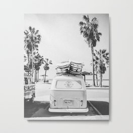 SURF TIME / Venice Beach, California Metal Print