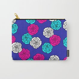 Pop Roses Pattern Carry-All Pouch