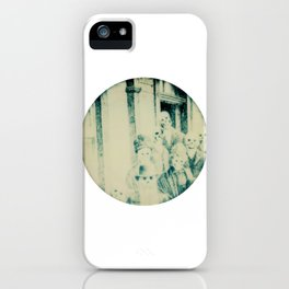 Calling All Skeletons No.4 iPhone Case
