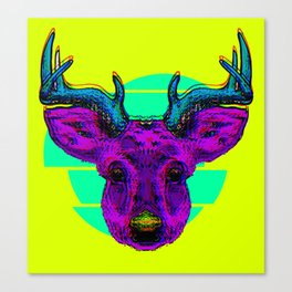 Future Deer Canvas Print