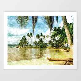 Beach for Love #beach #photography #society6 Art Print