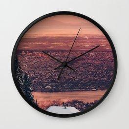 Sick Mountain Wall Clock