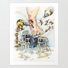 Roman Centurion Wasps Art Print