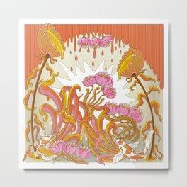 Water flower in Summer Metal Print
