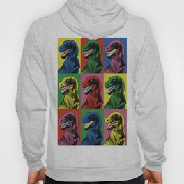 Dinosaur Pop Art Hoody