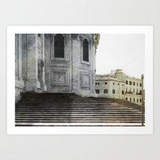 Rome Architecture, Italy Art Print