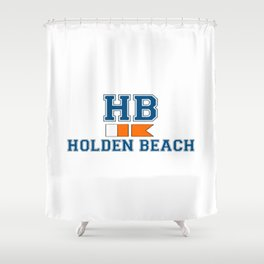 Holden Beach - North Carolina. Shower Curtain